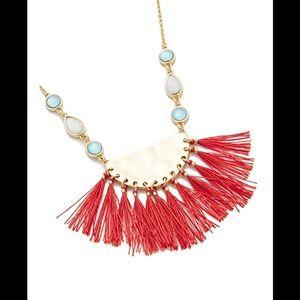 Rebecca Minkoff Fanned Tassel Necklace